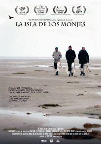 Cartel de la película La isla de los monjes