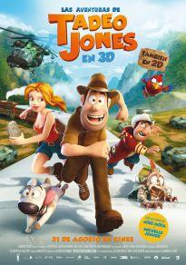 Cartel de la película Las aventuras de Tadeo Jones (Cine)