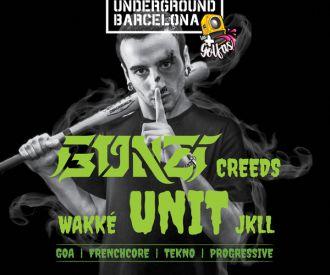 Gonzi - Unit & Creeds + Jkll + Wakké