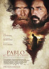 Cartel de la película Pablo, el apóstol de Cristo