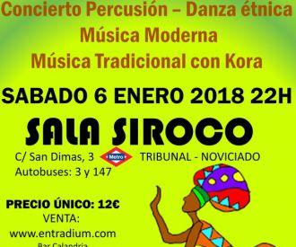 Gran Festival De Música y Danza Africana