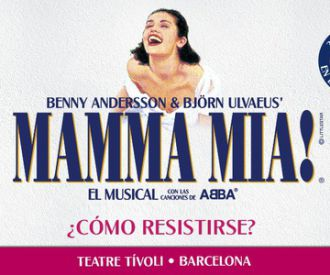 Mamma Mía! - El musical-background