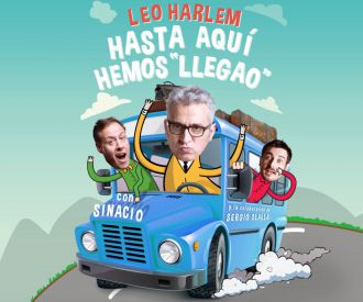 Leo Harlem, Sinacio y Sergio Olalla - Hasta aquí hemos llegado