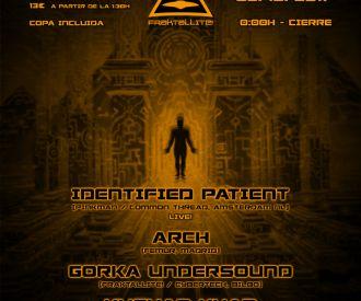 Fraktalite Club on Tour: Identified Patient + Arch + Gorka Unsound + Kushan Khan