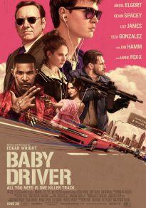 Cartel de la película Baby Driver (Digital)