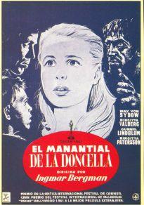 Cartel de la película El manantial de la doncella