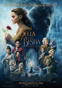 Cartel de la película La Bella y la Bestia, la película