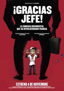Cartel de la película ¡Gracias Jefe!