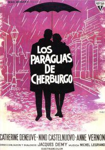 Cartel de la película Los paraguas de Cherburgo