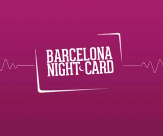 Barcelona Nightcard-background