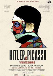 Cartel de la película Hitler VS Picasso (Y otros artistas modernos)
