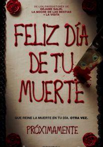 Cartel de la película Feliz día de tu muerte
