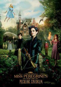 Cartel de la película El hogar de Miss Peregrine para niños peculiares